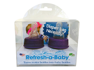 CLEARANCE Refresh-a-Baby Water and Beverage Bottle Adapters - 2 Pack