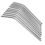 Curved Stainless Steel Straw