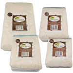 Osocozy Bamboo Cotton Prefolds - PREMIUM Better Fit 6-Pack