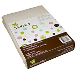 Osocozy Unbleached Cotton Flat Diapers - 6-Pack