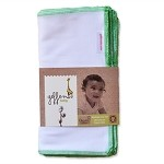 Geffen Baby Hemp/Cotton Jersey Wipes - 10-Pack
