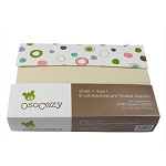 Osocozy Unbleached Cotton Prefolds - PREMIUM (size 2) Better Fit
