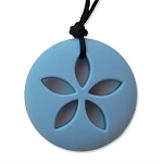 CLEARANCE Zen Rocks Teething Necklace - Sand Dollar