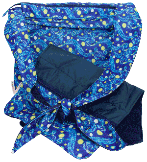 CLEARANCE Starry Night Haversack with Changing Pad