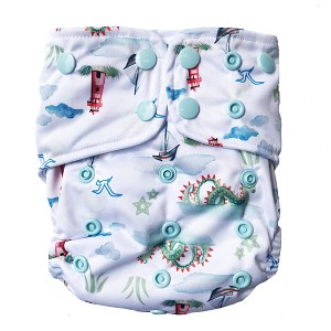 LKC All-in-One Diaper - Jupiter Song