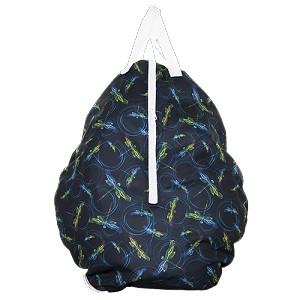 CLEARANCE Smart Bottoms Hanging Wet Bag - DnD EXCLUSIVE Ripple
