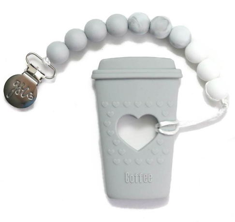 GSC Clip-On Teether - Coffee Cup