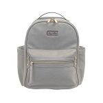 Itzy Ritzy Mini Backpack Diaper Bag - Gray