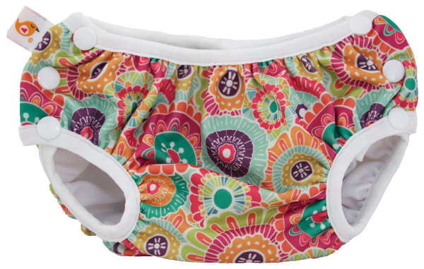 CLEARANCE Smart Bottoms Side-Snapping Swim Diaper