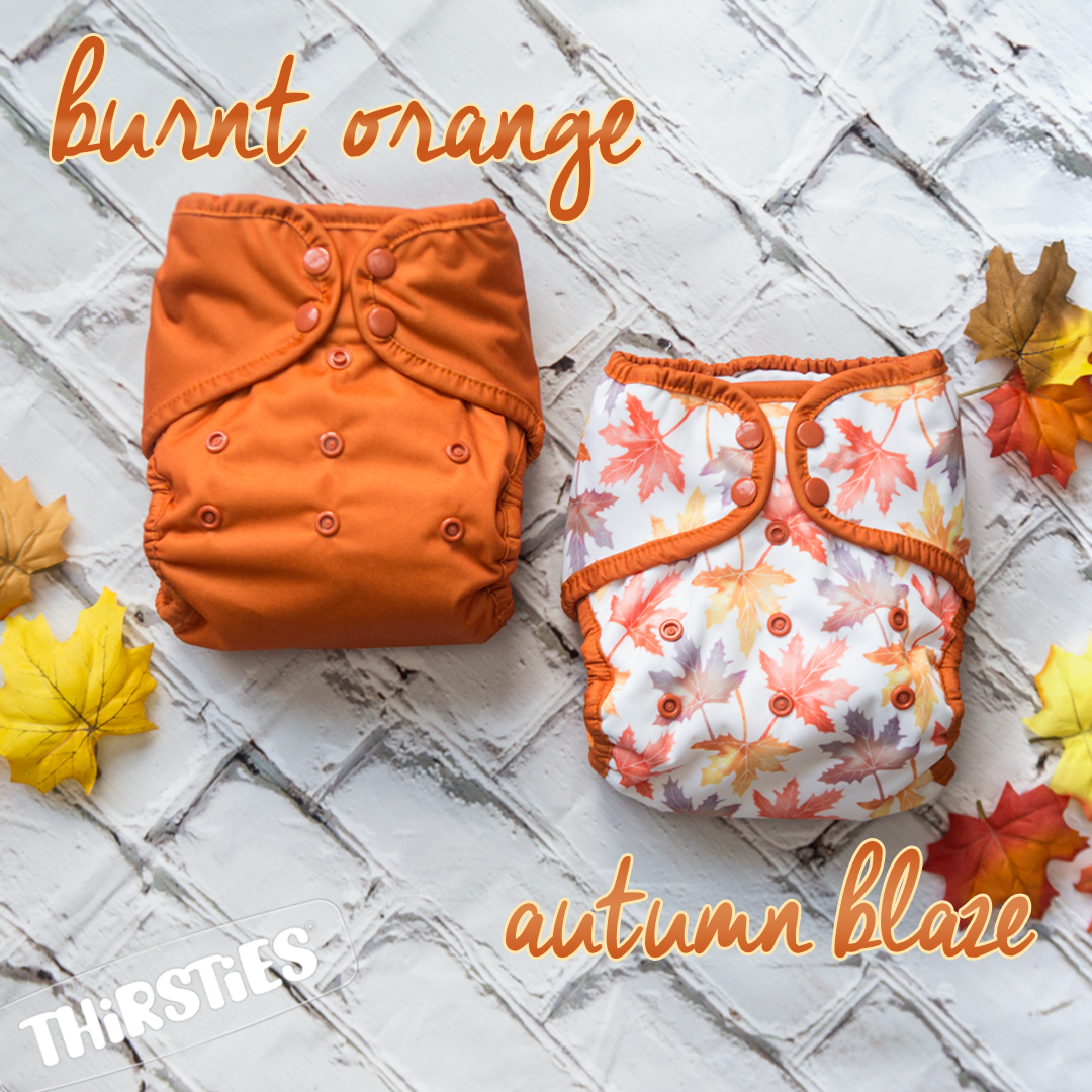 Autumn Blaze & Burnt Orange by Thirsties - LIMITED EDITION