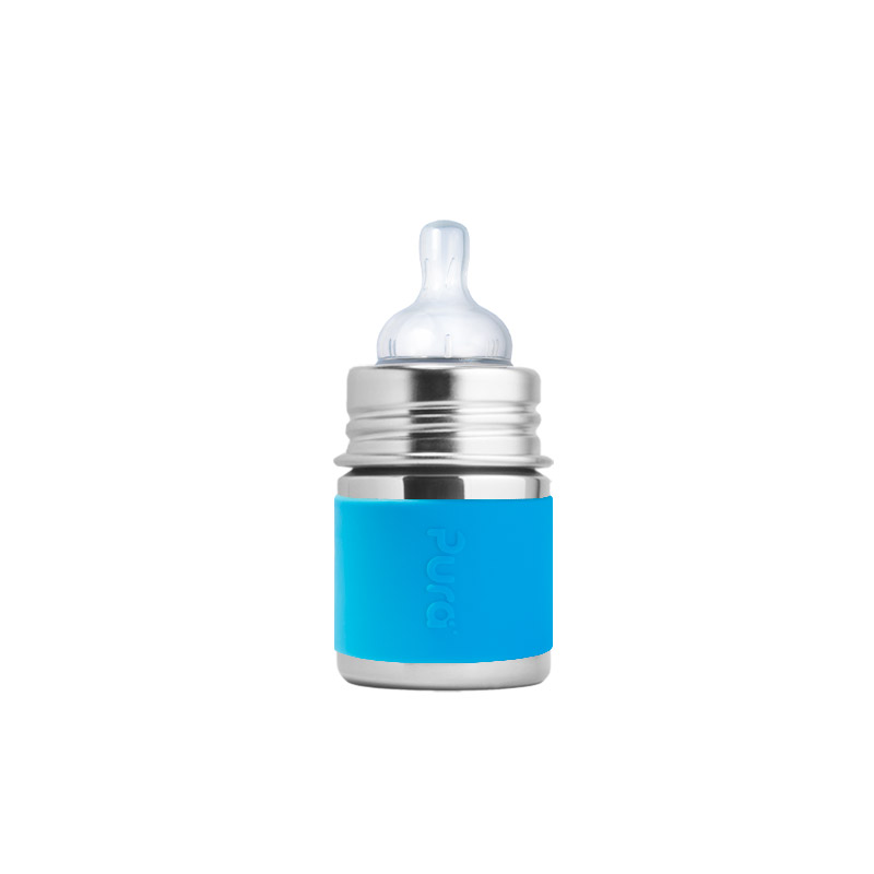 Pura 5oz Stainless Steel Baby Bottle