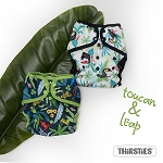 FINAL SALE Leap & Toucan by Thirsties - LIMITED EDITION