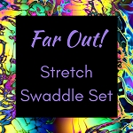 FAR OUT Stretch Swaddle Set