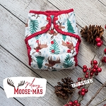 Merry Moose-mas by Thirsties - LIMITED EDITION