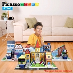 Picasso Tiles Magnetic 3-in-1 Theme Set