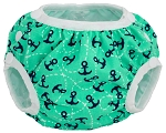 CLEARANCE Smart Bottoms Side-Snapping Swim Diaper - Cotton