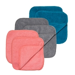 FINAL SALE GroVia Colored Cloth Wipes - 12-pack