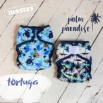 FINAL SALE Palm Paradise & Tortuga by Thirsties - LIMITED EDITION