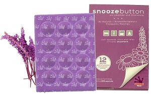 Purple Frog  Patch Snooze Button